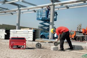 Stromerzeuger für Handwerk und Montage