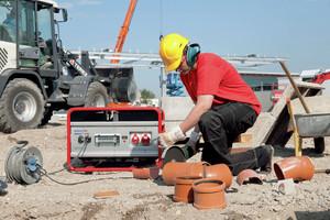 Stromerzeuger Baustelle
