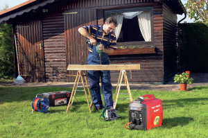Stromerzeuger Einsatz Hobby und Garten
