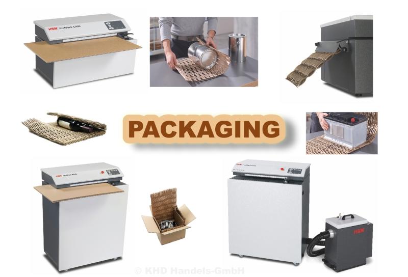 Verpackungspolstermaschinen HSM ProfiPack