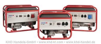 Handwerker Stromerzeuger 2-6 KVA