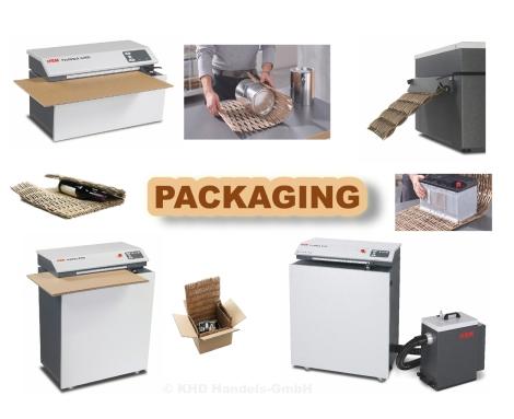 HSM ProfiPack C400, HSM ProfiPack P425, HSM ProfiPack P425 mit Entstauber DE 1-8