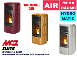 MCZ Suite Pelletofen Gruppe