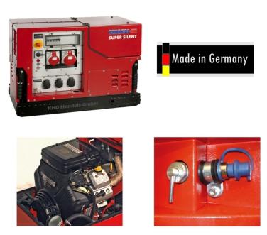 Duplex Silent Line bis 9 - 14,5 kVA - Benzin Stromerzeuger
