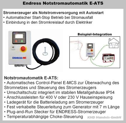 Notstromautomatik E-ATS