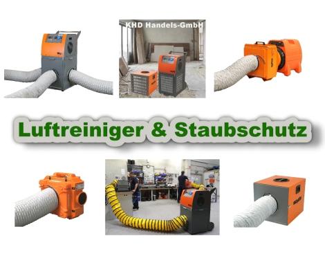 Luftreiniger und Staubschutzsysteme