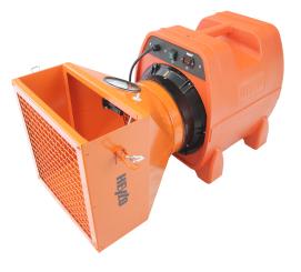 StaubStop 3000 Plus - Filtergehäuse offen